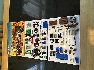 Lego 6765 Gold City Junction Spares And Instructions