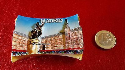 Madrid Spain Fridge Magnet Iman Nevera Souvenir España 3D