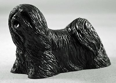 Lhasa Apso Coal Model - Hand Crafted - 605