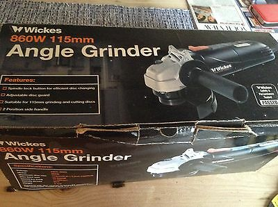 Angle Grinder including instructions and original box