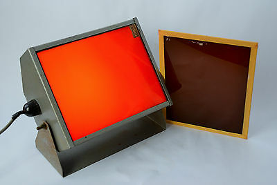Darkroom Safelight with red & yellow filters