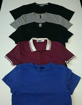 Mens t shirt bundle of five size small