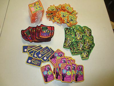 Lot of over 150 GIRL SCOUT Patches FESTIVAL OF THE ARTS