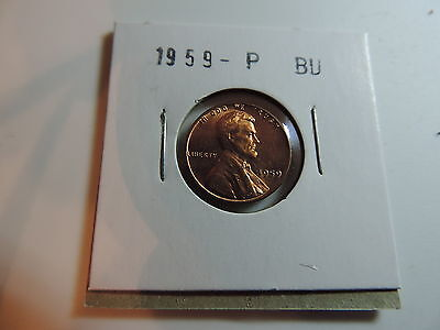 1959 US American Penny coin A368