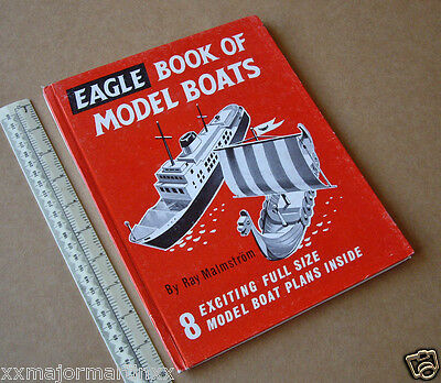 1960 Eagle Book of Model Boats by Ray Malmström. Jetex Diesel Electric Hydrojet