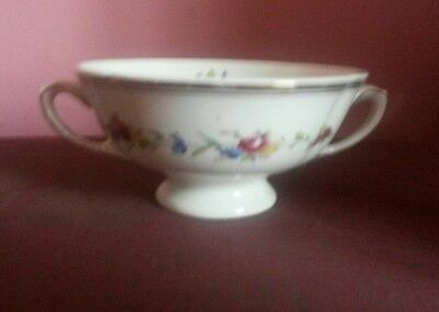 ROYAL DOULTON ST JAMES D6028  TWIN HANDLED CUP  c 1940's