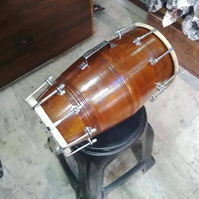 "GOOD dholak SHESHAM_wood""bolt fitting,dhollki AMAZING sound best offer dholak.."