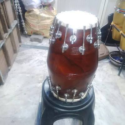 "best new^sheesham dholak _wood""bolt fitting,dhollki nice sound best offer dhol"