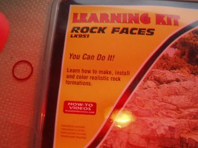 N Guage Scenery How to make rock Faces Learning Kit
