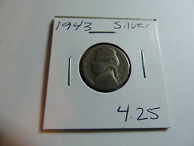 1943 US American Nickel coin A529