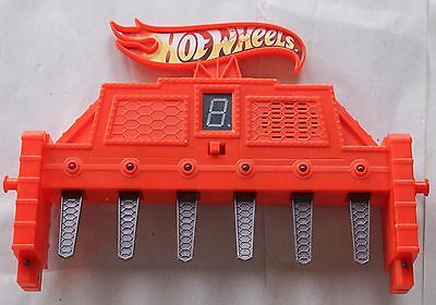 Hot Wheels 6 Lane Raceway Replacement Electronic Finish Line - Works!