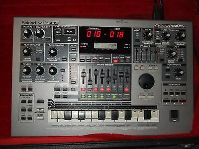 Roland MC505 Synthesiser, control modules, sequencer, groovebox 505