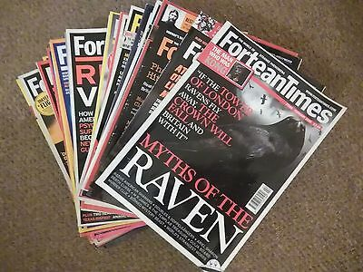Fortean Times Magazines 21 Issues Bulk Buy Paranormal Conspiracy Monster UFO