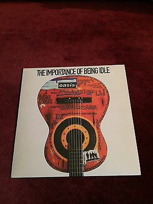 """Oasis The Importance Of Being Idle 7"""" Single Rare Vinyl. Excellent Condition."""