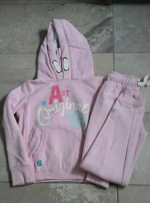 Girls Next Pink tracksuit age 10-11  years