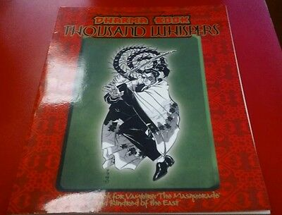 Kindred of the East Dharma Book Thousand Whispers Vampire the Masquerade D&D RPG