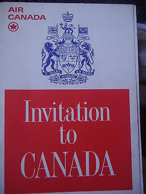 Old ~Collectable Air Canada book 1966. 50 pages.