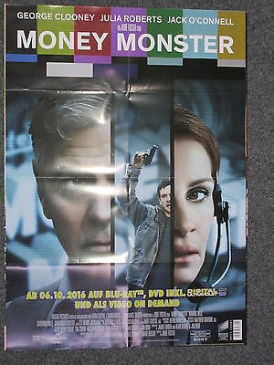 Money Monster (George Clooney) - A1 Filmposter