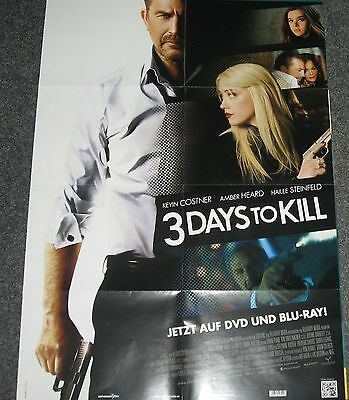 3 Days to kill (Kevin Costner) - A1 Filmposter