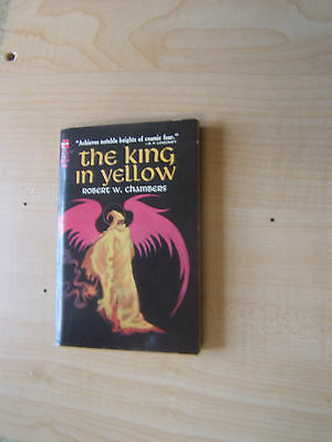 Robert W. Chambers  The King in Yellow 1st PB  Ace M-132 with 45 Cent Price