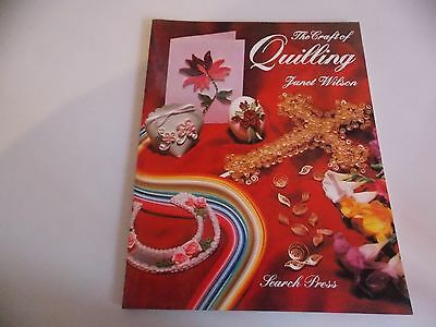 The Craft of Quilling by Janet Wilson (Paperback, 1996)