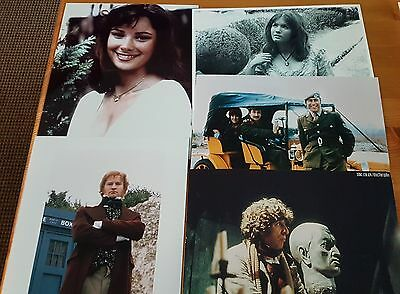 Dr Who Job Lot of 10 Assorted Photographs (All 10 x 8) ONLY £10 Lot 7