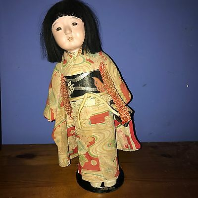 Vintage Japanese Chinese Doll