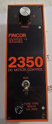 FINCOR 2350 - DC Motor Control - USED