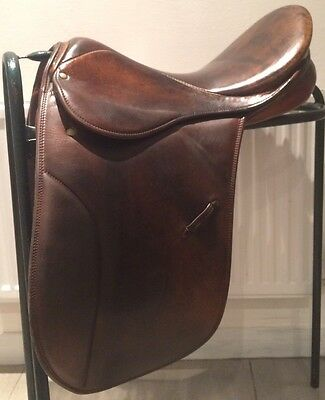 "18"" Brown STUBBEN Show / Working Hunter Saddle Wide Fit"