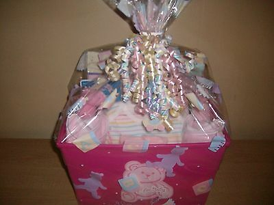Baby Girl Bath Time Baby Shower Gift Basket