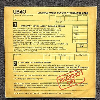 """UB40 ~ SIGNING OFF ~ USED LP VINYL RECORD AND 12"""" VG VG 1st press cardb'rd cover"""