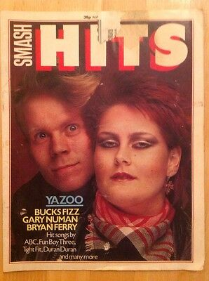 Smash Hits Magazine March 1982