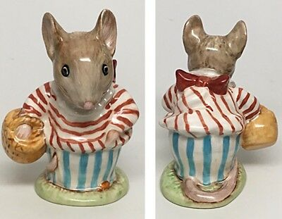 "Beswick Beatrix Potter Figurine ""Mrs. Tittlemouse"" Gold BP-1A"