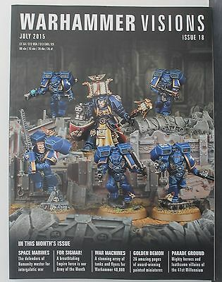 Warhammer Visions Issue 18 July 2015