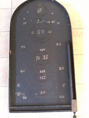 Vintage wooden BAGATELLE-shabby chic -piece broken at top-price reflects DAMAGE