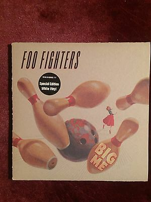 "Foo Fighters 7"" Vinyl Single. Big Me. Excellent condition. White vinyl"
