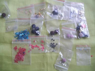 Assorted sewing and craft items