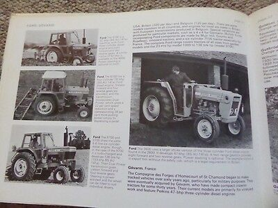 Vintage Tractor Book Ford Ferguson Roadless Massey Harris Volvo Zetor Great Book