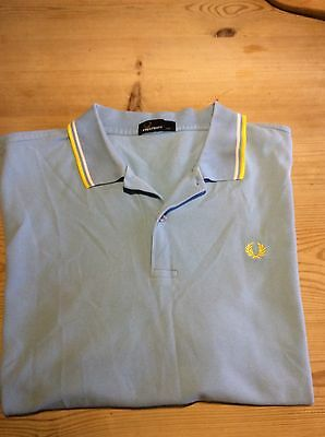 Fred Perry Xxl Short Sleeve Polo Shirt