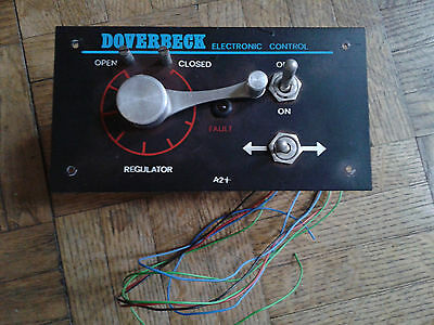 Vintage OO/OH Model Railway Doverbeck Electronic Control Throttle Panel A2+