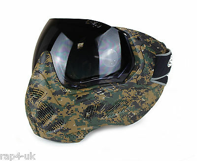 Valken SLY Profit Paintball Airsoft Mask Goggles Marpat Camo[OS8-4]