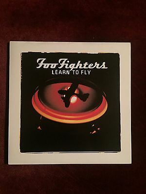 "Foo Fighters 7"" Vinyl Single. Learn to Fly. Excellent condition. Ltd."
