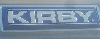 RARE Kirby Vacuum Factory Authorized Service Center Dealer Sign 8' X 2'