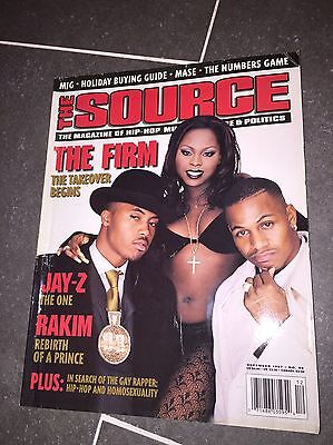 The Source December 1997 The Firm Cover AZ Nas Gay Rapper Hip Hop Homosexuality