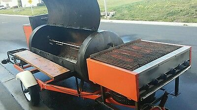 used bbq smoker trailer