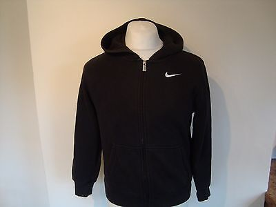 Boys Nike Zip Up Hoodie Hooded Cotton Fleece Jacket 12-13 Years Childrens