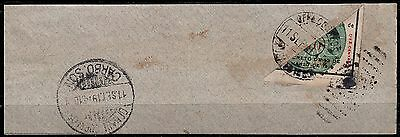 Mexico,Revolution,Scott#346,10c,bisect,Carbo Sonora,fragment