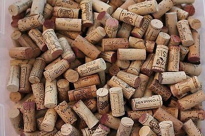 lots of 15  used WINE CORKS assorted brands