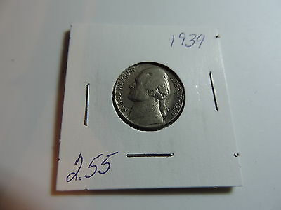 1939 US American Nickel coin A557