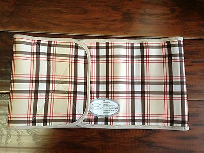 Belly Bandit Couture Size Medium Plaid New BB Couture Belly Wrap